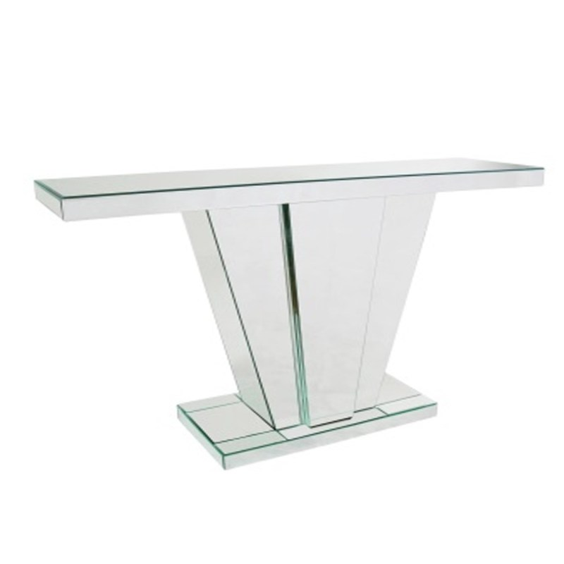 Large Of Mirrored Console Table