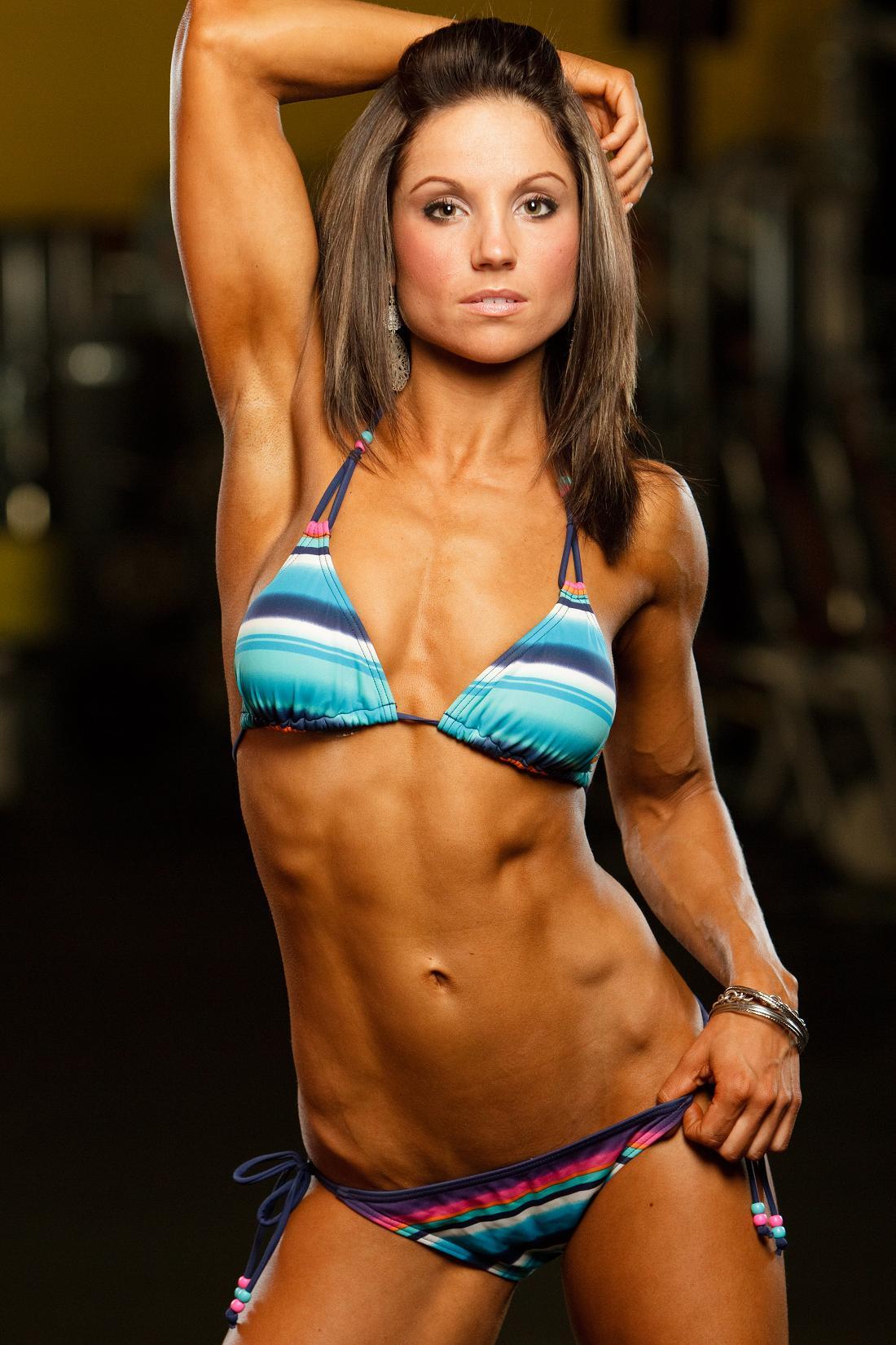 hot fitness women bikini
