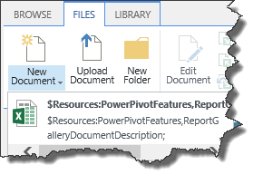 PowerPivot Resource File not found