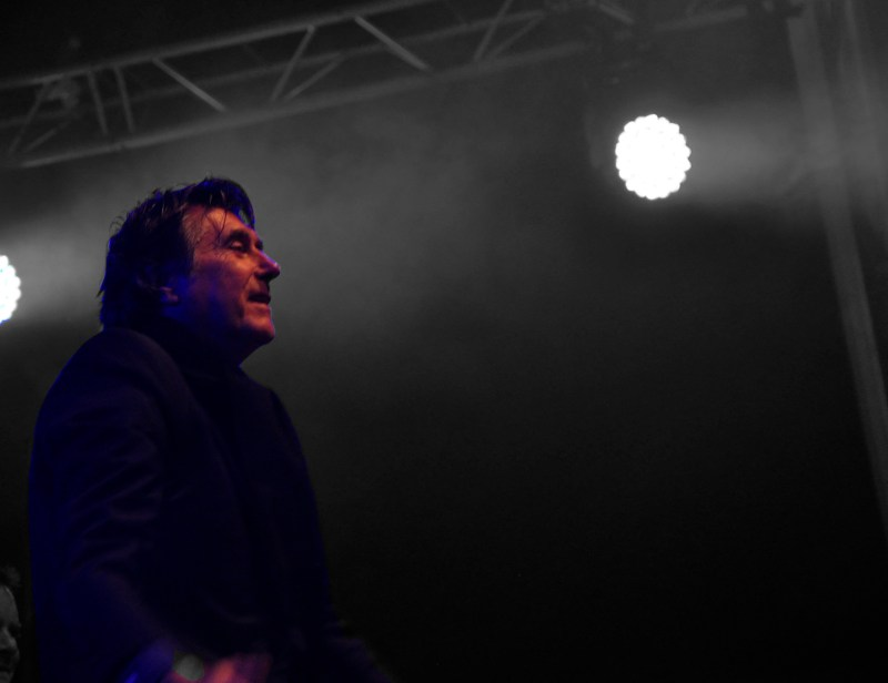 Bryan Ferry on stage