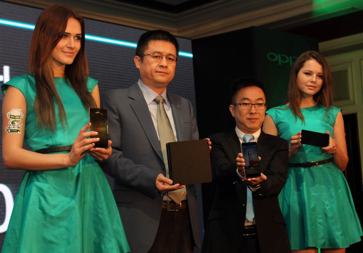 Oppo Find 7 And Find 7a Launched in India