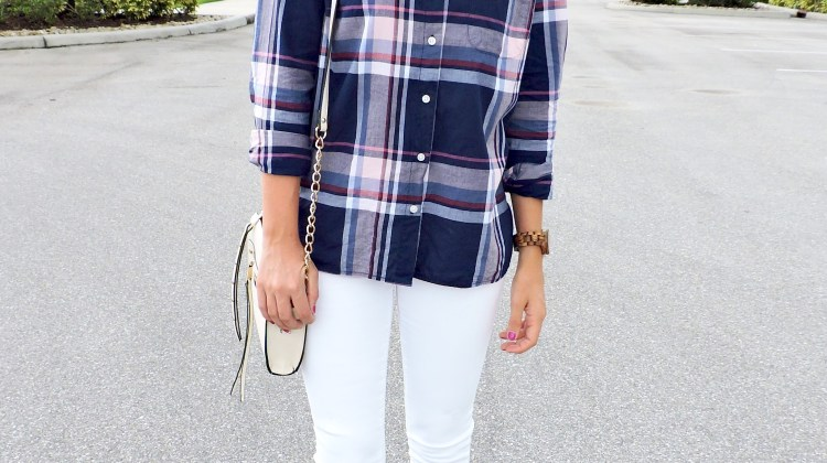 Plaid, Burgundy & a Collaboration with JORD Watches