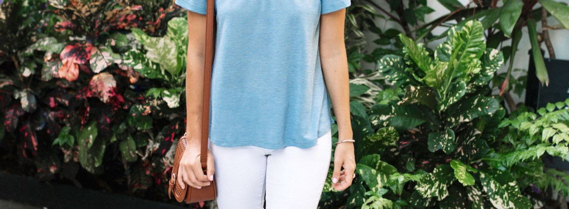 Off the Shoulder Top with Grace & Emma
