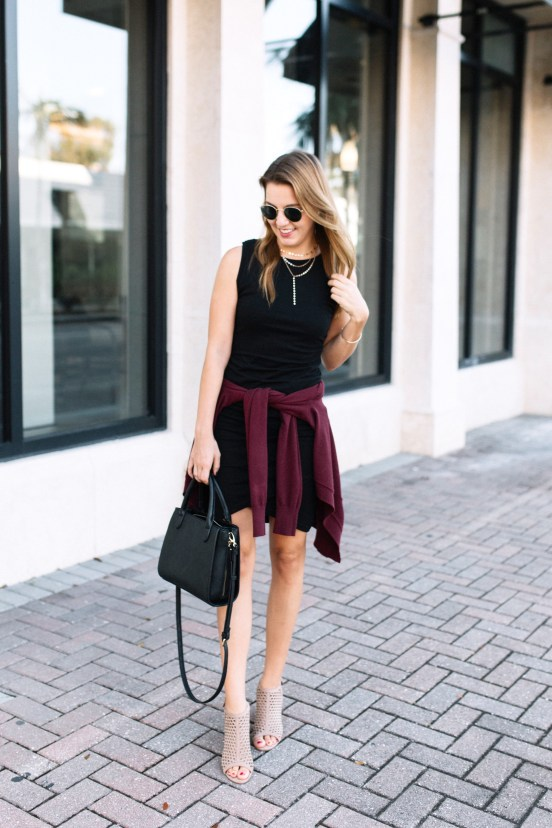 Weekend Style: the Perfect Little Black Dress by Florida fashion blogger Absolutely Annie