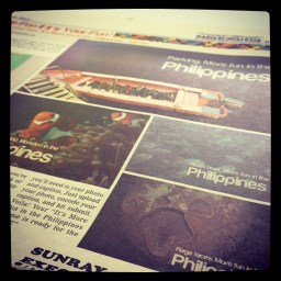 Today: I'm in Manila Bulletin's Special Supplement for the Department of Tourism