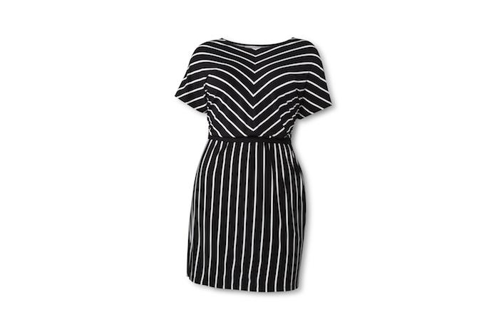 195410_Look56_BlackWhiteStripe_KnitOxford_Dress