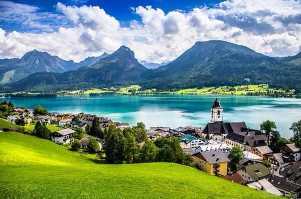 مدينة سانت لفانغ، النمسا.
