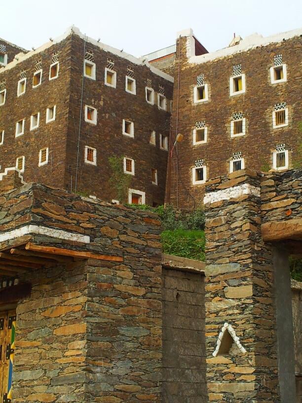 تراث المباني في عسير
