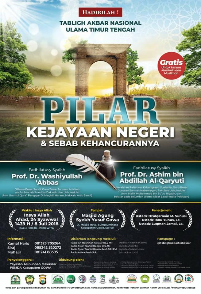 Daurah Internasinal 2018 Makassar