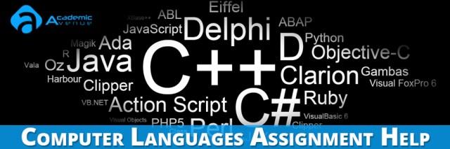 Computer Languages Assignment Help US UK Canada Australia New Zealand
