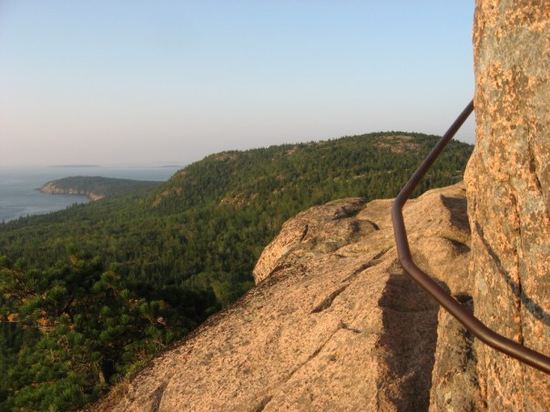 Beehive Trail in Acadia National Park