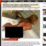 Imprensa internacional expõe imagens de suposto filme pornô de Tati Neves