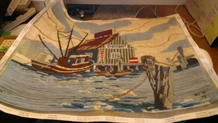N Is For… Needlepoint!