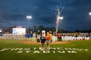 Photo by Tug Haines, Reading Fightin' Phils team photographer