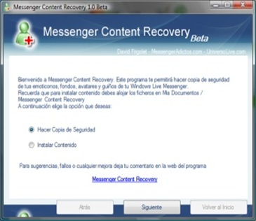 msn recovery