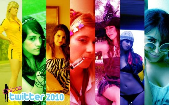 Chicas Twitter 2010