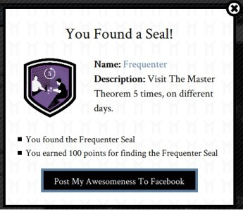 The Master Theorem - Seal