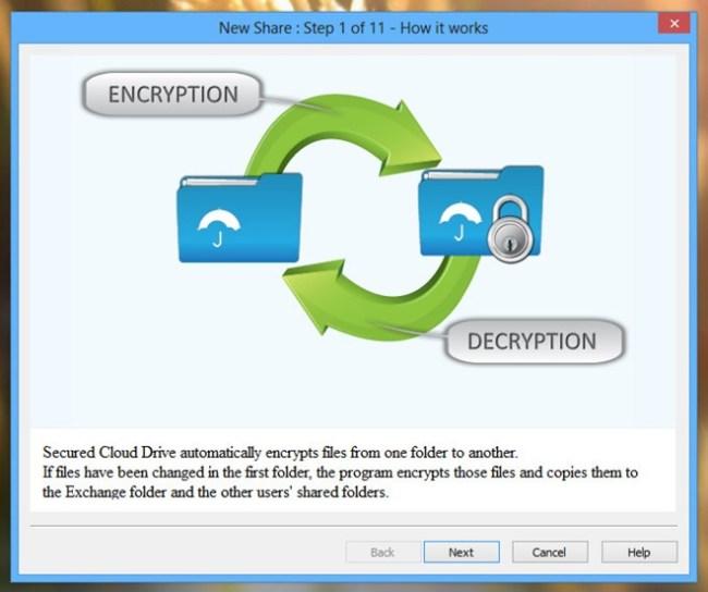 Secured-Cloud-Drive_Wizard-Step-1