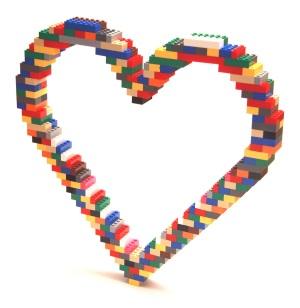 Corazon Legos