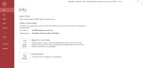 report-on-my-data-office365-msaccess13