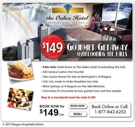 20130711 niagara hospitality hotels email newsletter 450x424