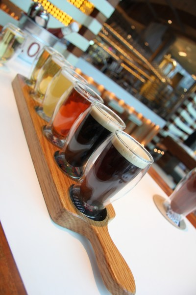 the brew tasting flight