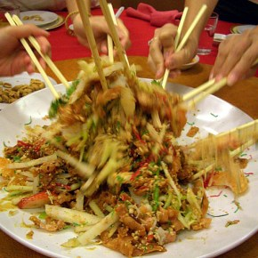 Epicurean Concept of the Week - Yusheng, a Chinese New Year Culinary Tradition