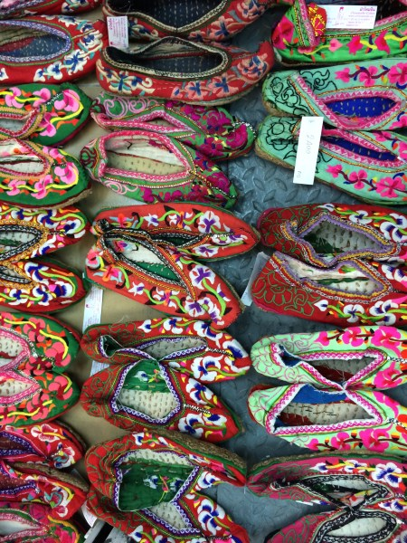 slippers at Chatuchak weekend market
