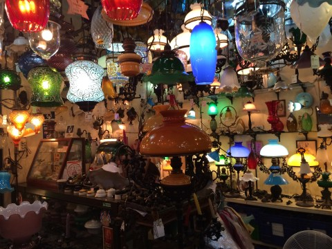 bangkok weekend chatuchak market home decor lamps lighting