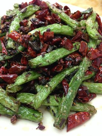 sichuan village restaurant green beans singapore