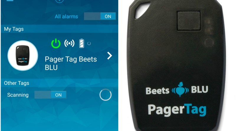 Beets BLU Pager Tag