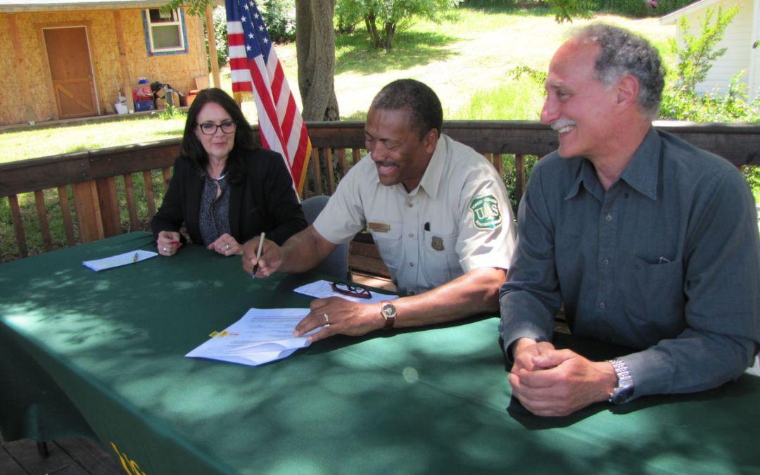 Master Stewardship Agreement Signed!