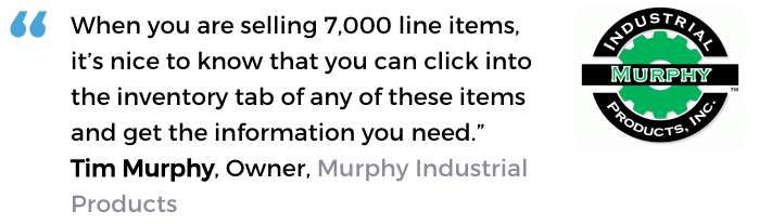 Acctivate inventory control software user, Murphy Industrial Products