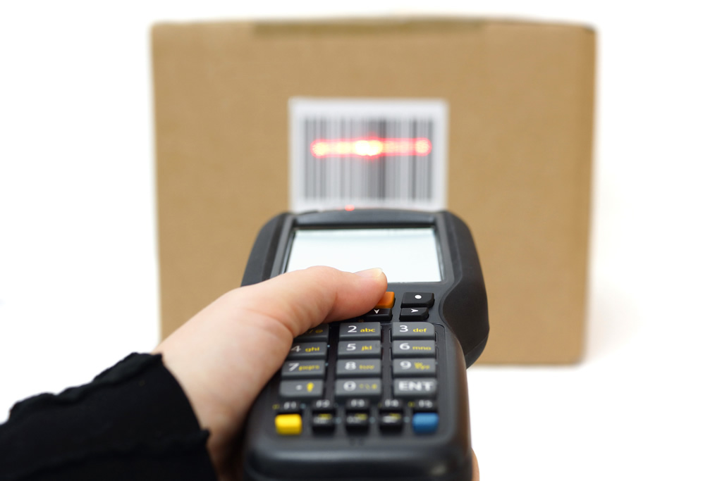 Warehouse management software combined with ruggedized mobile computers & barcoding