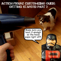 Action Figure Customizing Guide: Getting Started Part 2