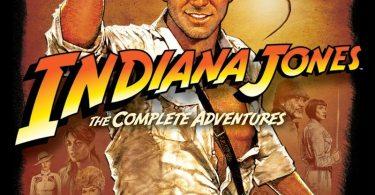 Indiana Jones Blu-ray DVD