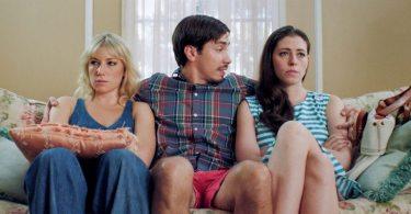 Ari Graynor as Katie, Justin Long plays Jesse and Lauren Anne Miller stars as Lauren