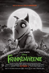 FRANKENWEENIE one sheet sparky