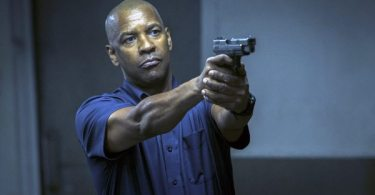 Denzel Washington as McCall in The Equalizer