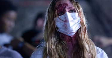 Good make-up and special effects helps to save the horror flick