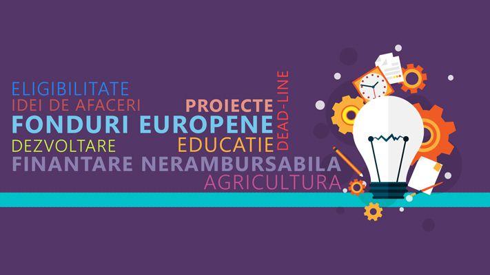 Proiecte cu finantare nerambursabila - fonduri europene pentru dezvoltare