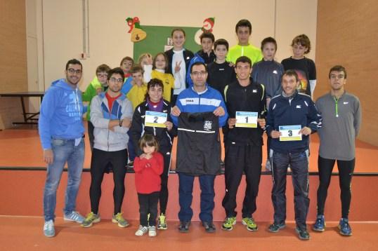 Foto presentació Cursa Sant Silvestre 2012