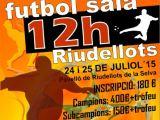 12 HORES FUTBOL SALA RIUDELLOTS I FUTSAL KIDS