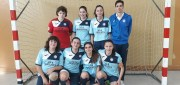 L'equip cadet femení aconssegueix a Malgrat el primer lloc a la priemra fase de Lliga