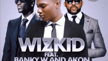 Wizkid ft. Akon & Banky W - ROLL IT [Remix] Artwork | AceWorldTeam.com