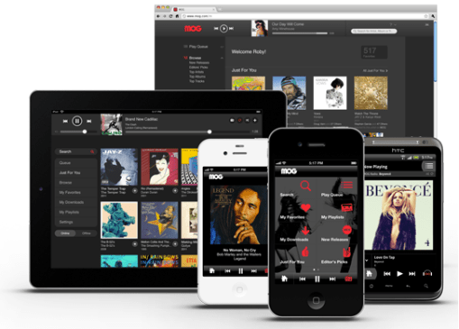 MOG A New Music Streaming Service Review