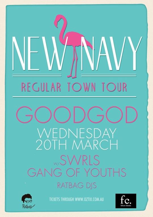 Gig of the Week - New Navy @GoodGod