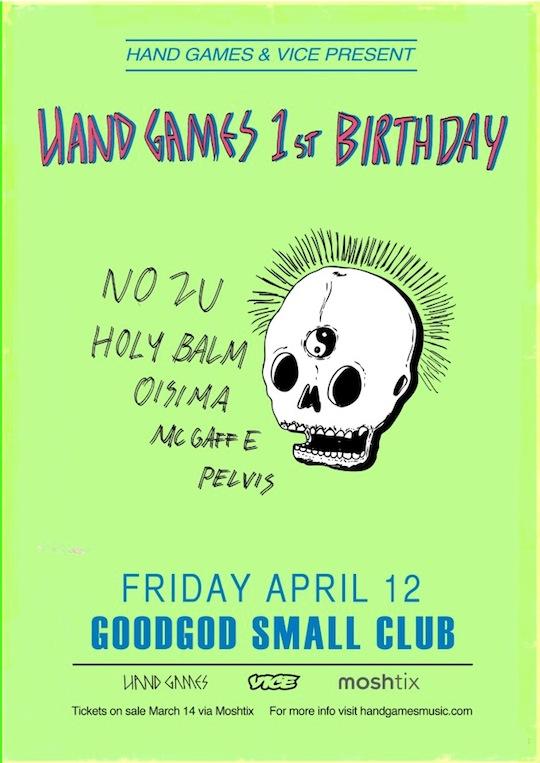 Hand Games 1st Birthday