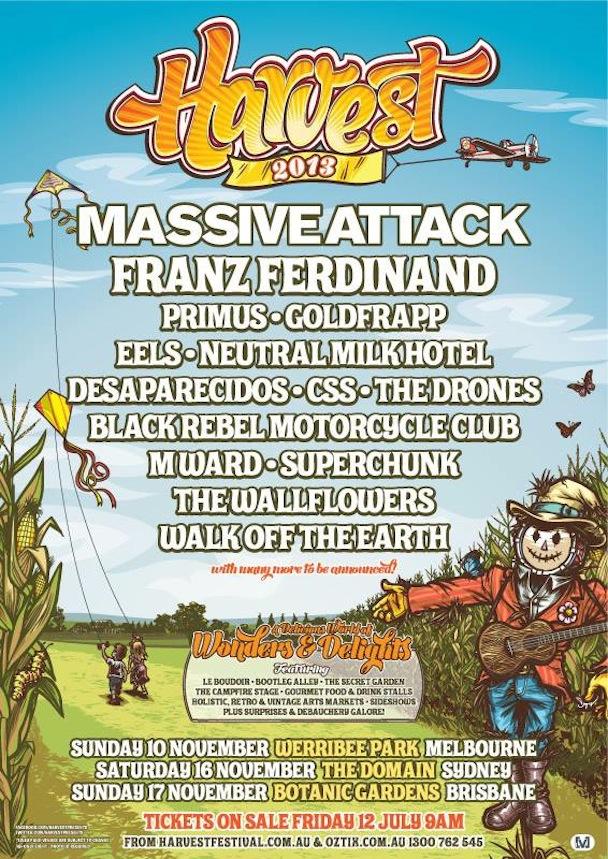 Harvest Festival 2013 Line-up