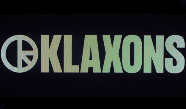 Klaxons - There Is No Other Time - acid stag